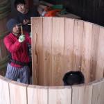 ヤマロク醤油新桶作り