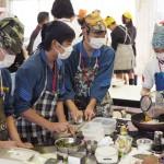 小豆島高校オリーブ料理フィスティバル