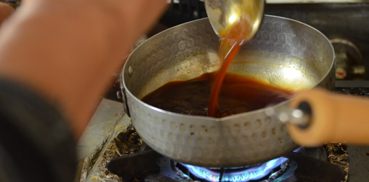 芋の茎の佃煮