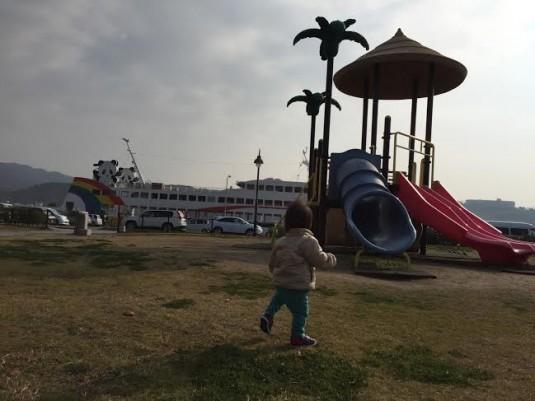 池田港の公園01