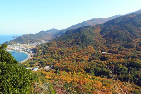 紅葉の小豆島